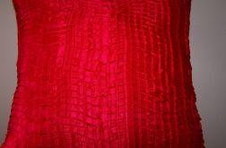 Poszewka na poduszkę- czerwień