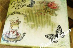 Szkatułka na Herbate 15x18 cm