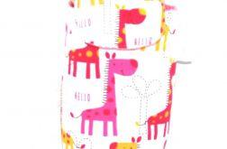 Etui na pieluszki-żyrafki