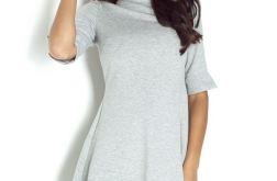 Dresowa sukienka z ozdobnym tyłem 191