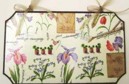 Wiosenny obrazek z irysami