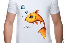 Złota rybka - t-shirt S-5XL (różne kolory)