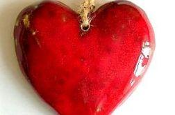 Ceramiczne serce wiszące