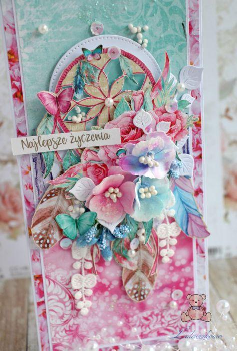 Kartka urodzinowa DL Daydream 2 GOTOWA -