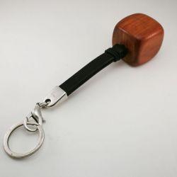 Brelok do kluczy drewno