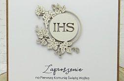 Zaproszenie na I Komunię Św. ZK24