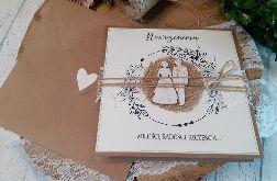 Rustykalna kartka na ślub 05
