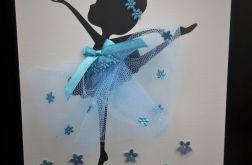 Kartka baletnica