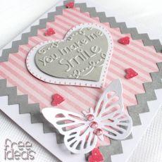 You make me smile - Walentynka  KW021