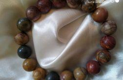 Bransoletka z naturalnego jaspisu picasso