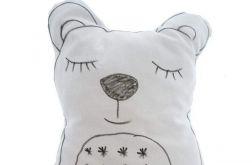 Poduszka śpiący miś