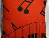 Muzyka I - poduszka dekoracyjna