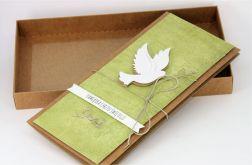 Kartka z okazji Chrztu w pudełku z okienkiem