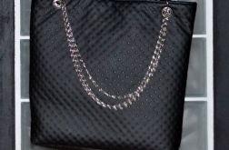 Rockowa torba xl z łańcuchem