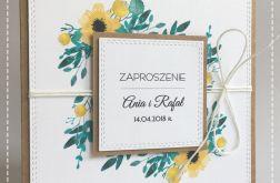 Rustykalne zaproszenia na ślub #2
