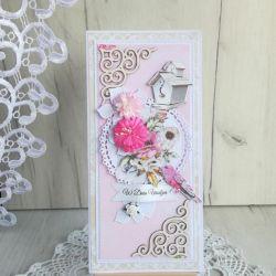 Kartka urodzinowa DL Dreamer 1 GOTOWA