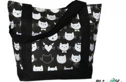 EKO Torba / Shopper ~ 100% bawełna ~ koty