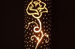 "lampa ""Róża"""