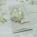 Kartka ślubna z młodą parą vol.2 w pudełku - ślubny prezent