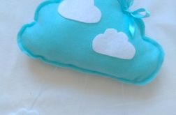Chmurka deszczowa niebieska