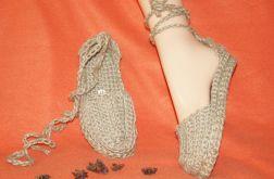 BOTKI SANOCKIE relaksująco-masujące, buty pantofle