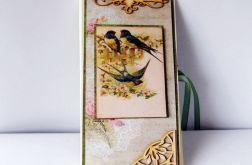 Czekoladownik z ptaszkami