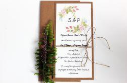 Wiosenny poranek - zaproszenia ślubne