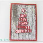 Wyjątkowa KARTKA ŚWIĄTECZNA - 24 - Boże Narodzenie, bożonarodzeniowe, święta