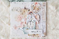 Kartka dla mamy z okazji jej święta- romantyczna