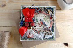 Kartka świąteczna w pudełku VINTAGE #2