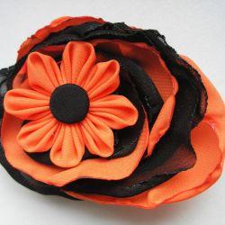 Broszka - Mechaniczna Pomarańcza