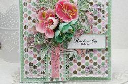 Kochanej Babci- kartka z pudełkiem 2