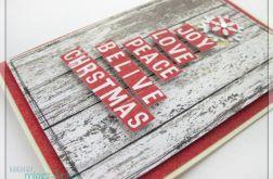 Kartka świąteczna z angielskim napisem 6