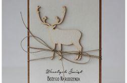 Stylowa kartka Boże Narodzenie 9