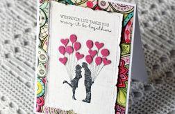 Zakochana para i baloniki 002