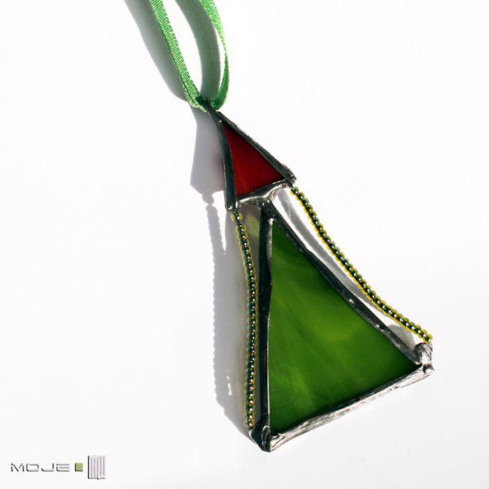 Choinka mini - zestaw 08 - ozdoby świąteczne