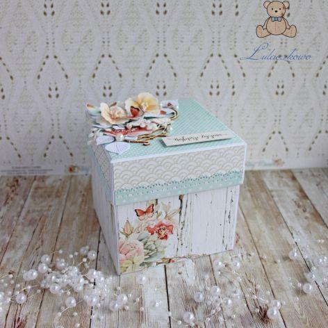 Exploding box urodzinowy z rowerem GOTOWY