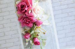 Fuksjowe ślubne róże