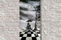 """""""Czas"""" surrealistyczny obraz"""