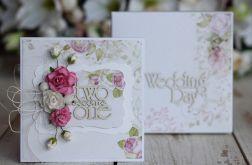 Kartka z pudełkiem - romantyczny ślub2