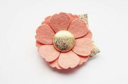 Spinka do włosów kwiatek blushing bride