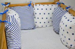 Modułowy ochraniacz do łóżeczka 6 szt N17
