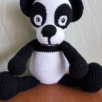 amigurumi Panda szydełkowa