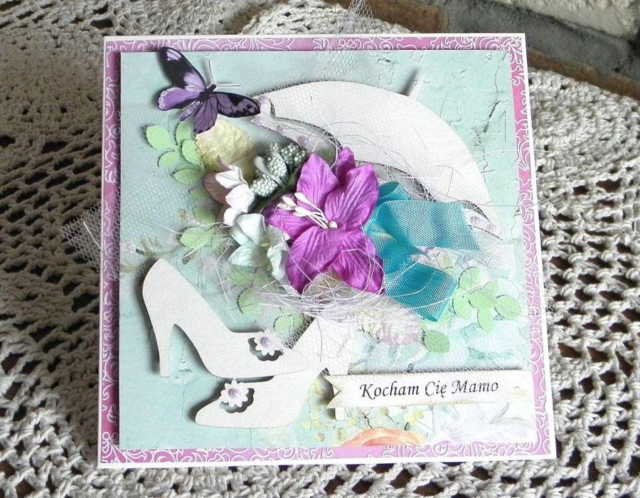 Kocham Cię Mamo - kartka 06