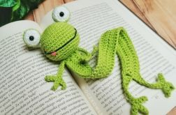 Zakładka do książki - Szydełkowa - Żaba