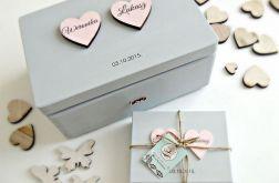 "Ślubne pudełko na koperty ""Cold Romantic2"""