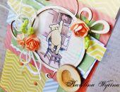 Kartka walentynkowa z Kubusiem Puchatkiem