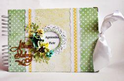 Pastelowy Album Ślubny 8 kart