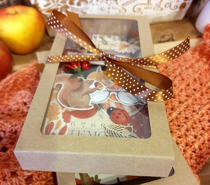 Kartka w pudełku dla nauczyciela SOWA