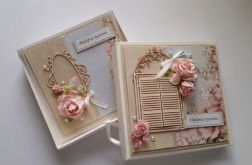 Kartka i pudełko okolicznościowe